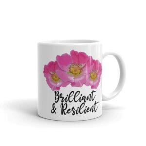 Prairie Rose Bouquet Brilliant & Resilient Coffee Cup