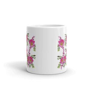Prairie Rose Bouquet Coffee Cup