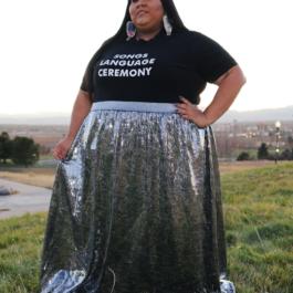Alizzo Sequin Skirt